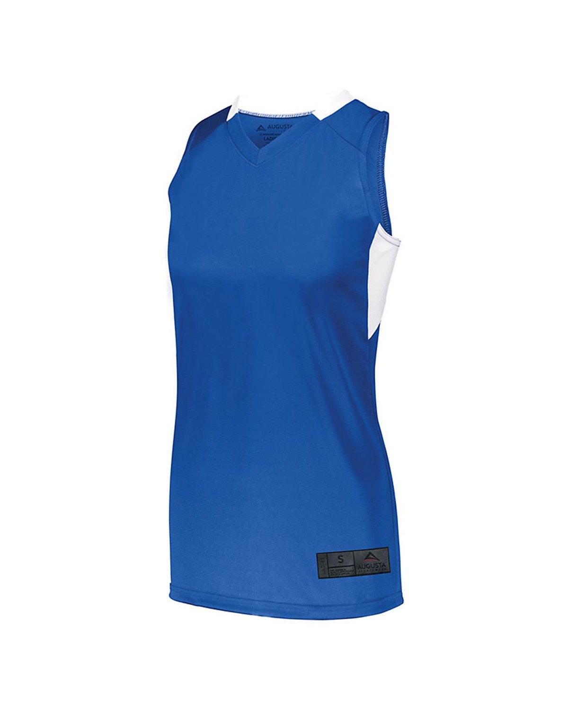 1732 Augusta Sportswear ROYAL/ WHITE