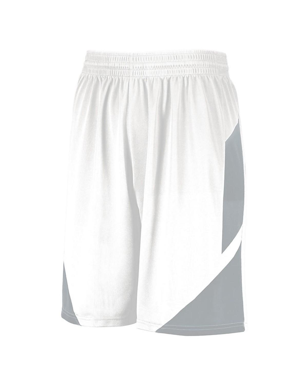 1733 Augusta Sportswear WHITE/ SILVER