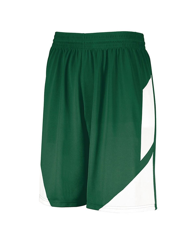 1733 Augusta Sportswear Dark Green/ White