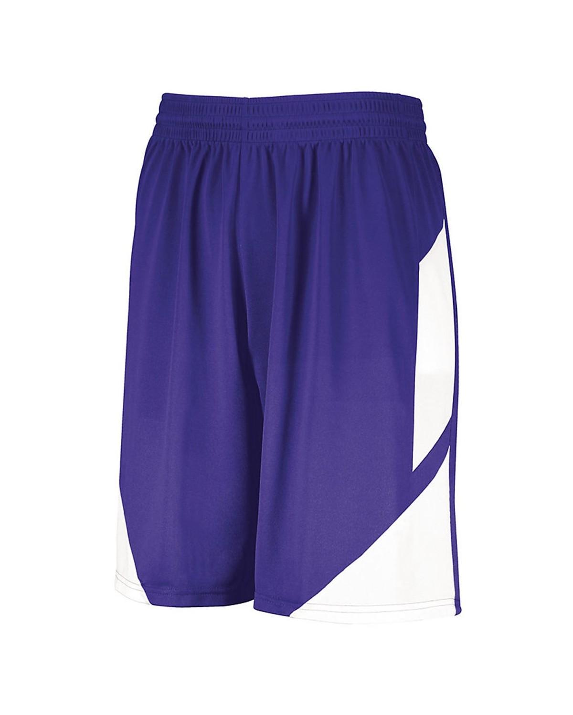 1733 Augusta Sportswear PURPLE/ WHITE