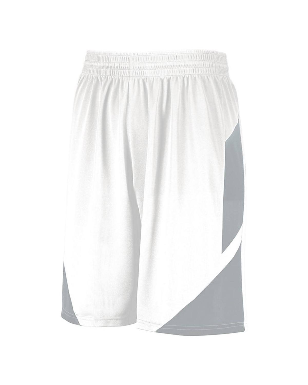 1734 Augusta Sportswear WHITE/ SILVER