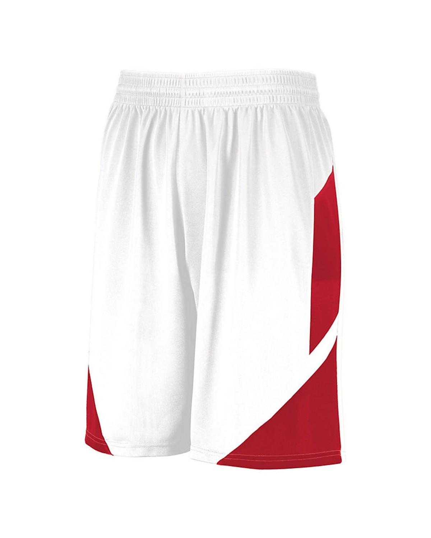 1734 Augusta Sportswear WHITE/ RED