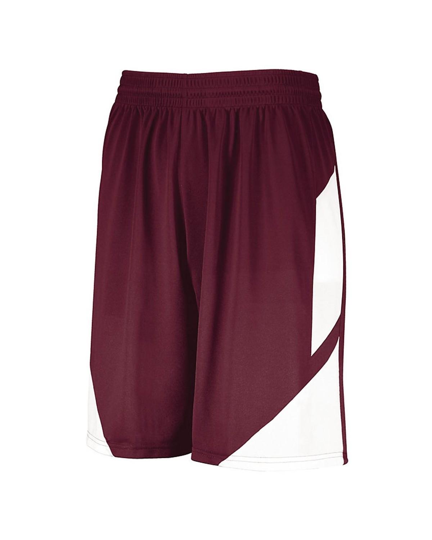 1734 Augusta Sportswear MAROON/ WHITE