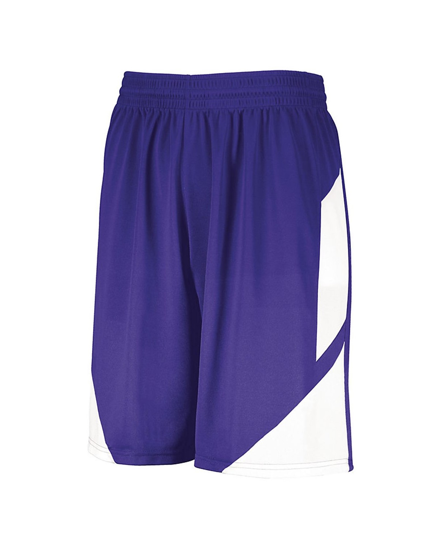 1734 Augusta Sportswear PURPLE/ WHITE