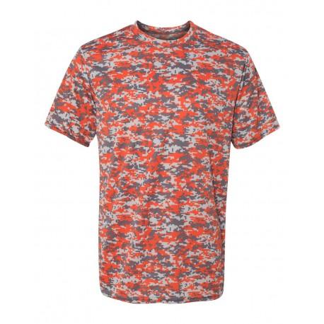 1798 Augusta Sportswear 1798 Digi Camo Wicking T-Shirt ORANGE DIGI