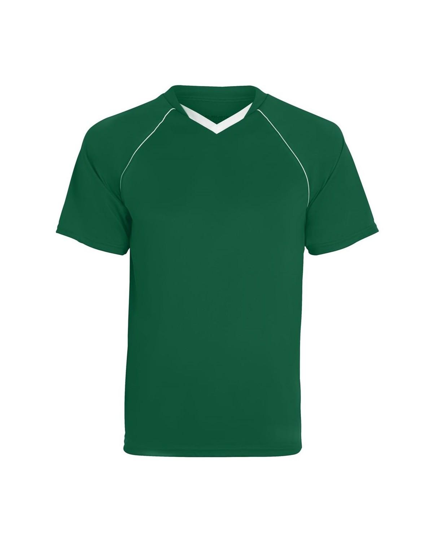 214 Augusta Sportswear Dark Green/ White