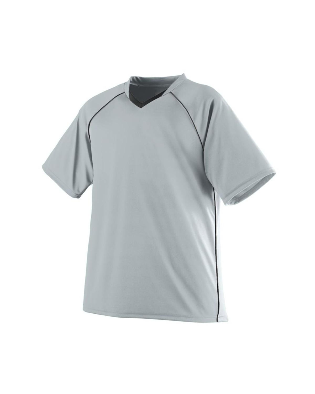 214 Augusta Sportswear SILVER/ BLACK