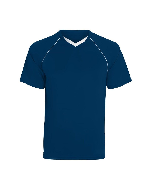 214 Augusta Sportswear NAVY/ WHITE