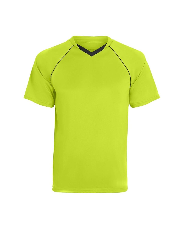 215 Augusta Sportswear Lime/ Black