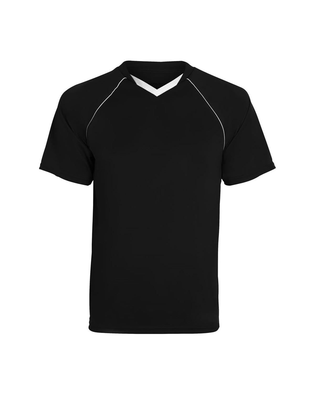 215 Augusta Sportswear BLACK/ WHITE
