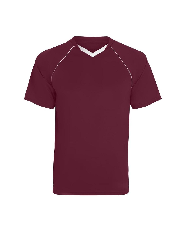 215 Augusta Sportswear MAROON/ WHITE