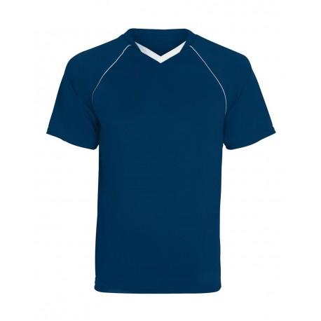 215 Augusta Sportswear 215 Youth Striker Jersey NAVY/ WHITE