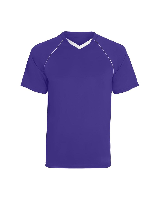 215 Augusta Sportswear PURPLE/ WHITE