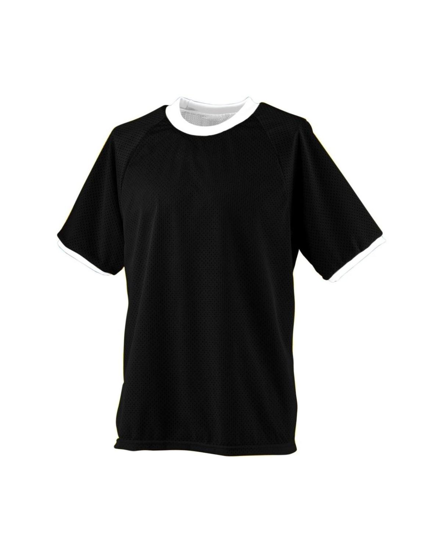 216 Augusta Sportswear BLACK/ WHITE