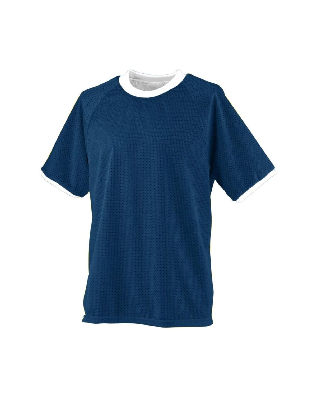 216 Augusta Sportswear NAVY/ WHITE