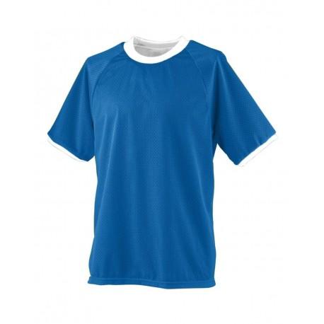217 Augusta Sportswear 217 Reversible Practice Jersey ROYAL/ WHITE