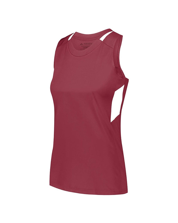 2436 Augusta Sportswear MAROON/ WHITE
