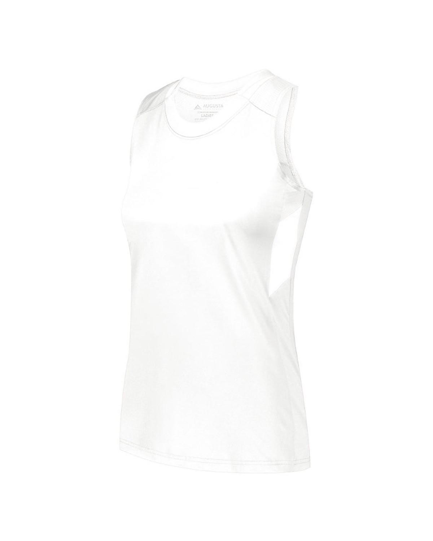 2437 Augusta Sportswear WHITE/ WHITE