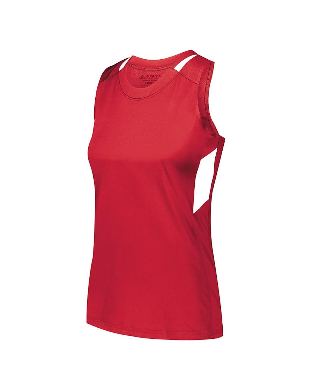 2437 Augusta Sportswear RED/ WHITE