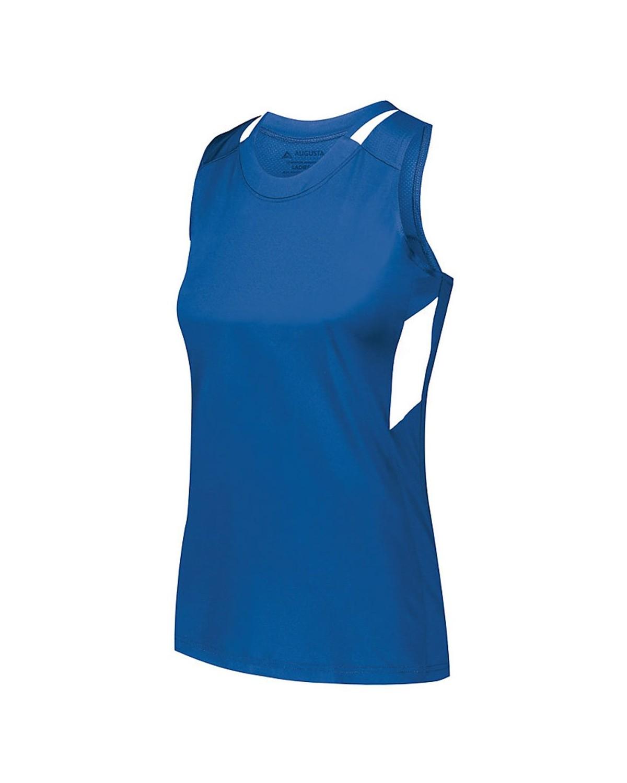 2437 Augusta Sportswear ROYAL/ WHITE