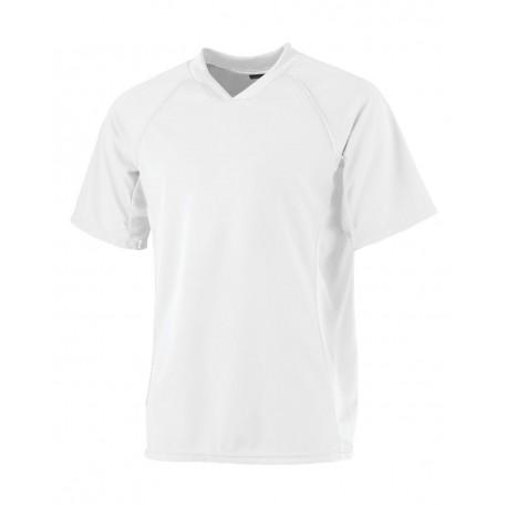 244 Augusta Sportswear 244 Youth Wicking Soccer Shirt WHITE/ WHITE