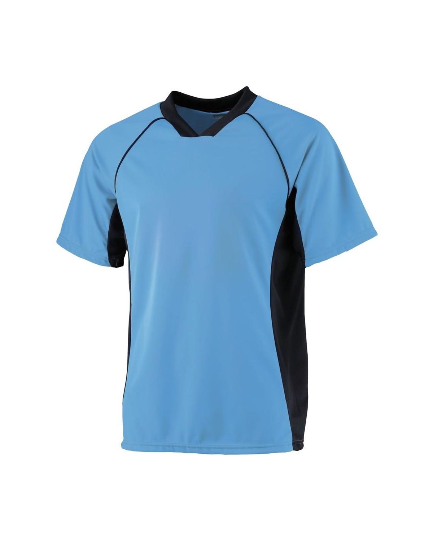 244 Augusta Sportswear Columbia Blue/ Black