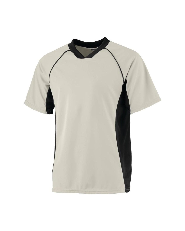 244 Augusta Sportswear SILVER/ BLACK