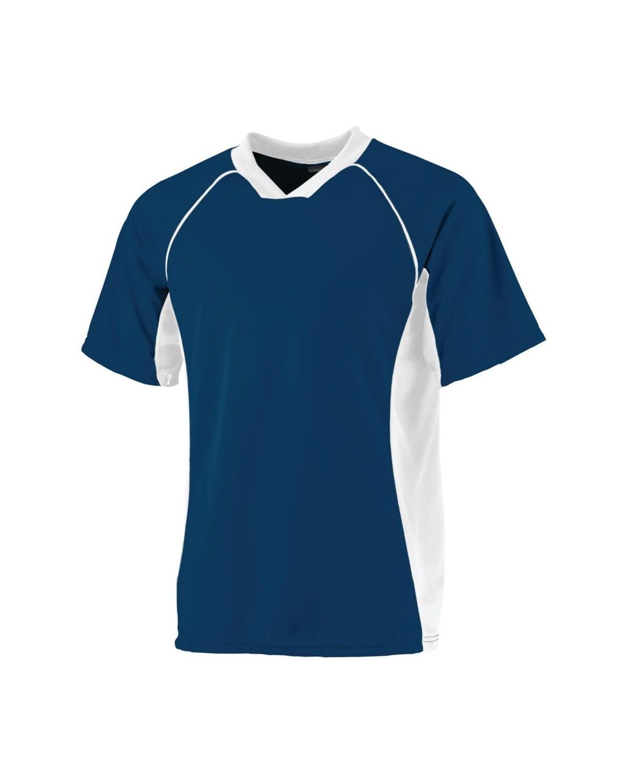 244 Augusta Sportswear NAVY/ WHITE