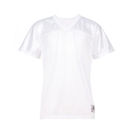 250 Augusta Sportswear 250 Women's Replica Football Jersey WHITE