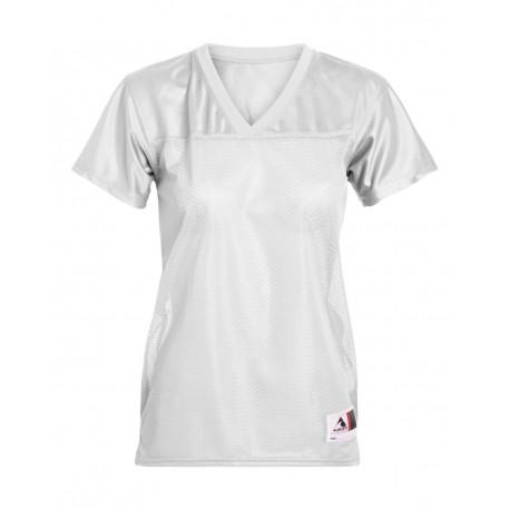 251 Augusta Sportswear 251 Girls' Replica Football T-Shirt WHITE