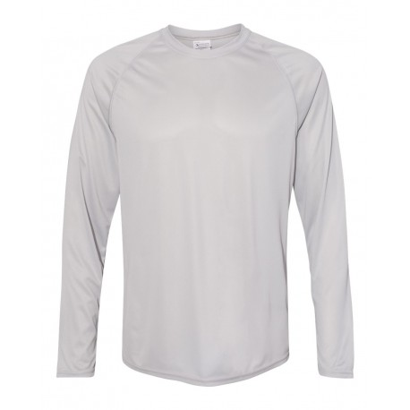 2795 Augusta Sportswear 2795 Attain Color Secure Performance Long Sleeve T-Shirt SILVER