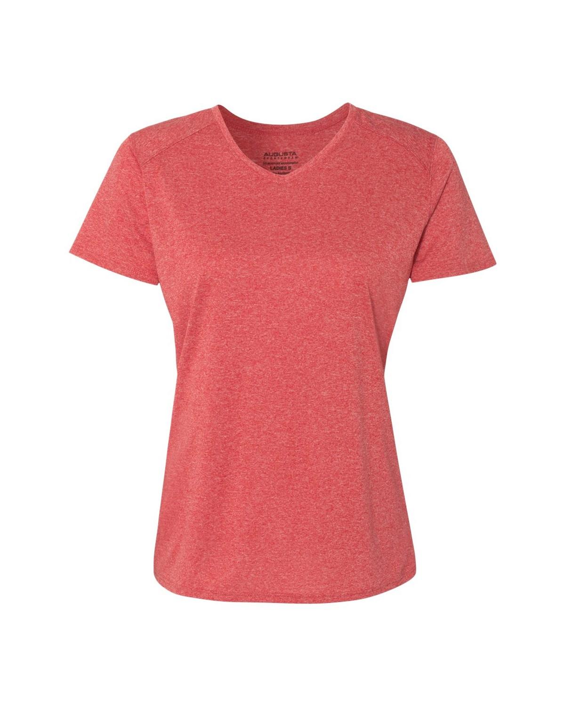 2805 Augusta Sportswear RED HEATHER