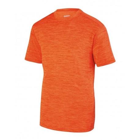 2900 Augusta Sportswear 2900 Shadow Tonal Heather Training T-Shirt ORANGE
