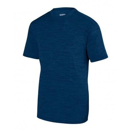 2901 Augusta Sportswear 2901 Youth Shadow Tonal Heather Training T-Shirt NAVY