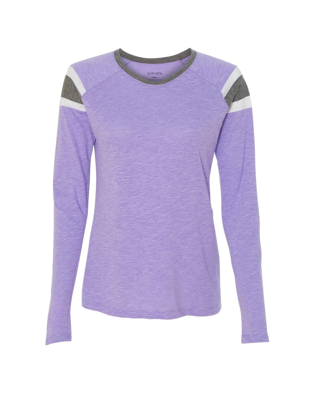 3012 Augusta Sportswear Lavender/ Slate/ White