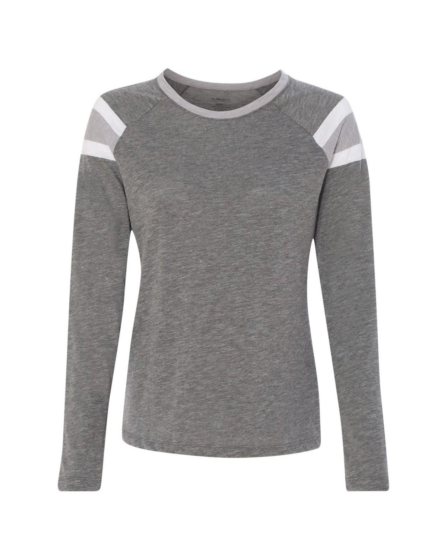 3012 Augusta Sportswear Slate/ Athletic Heather/ White