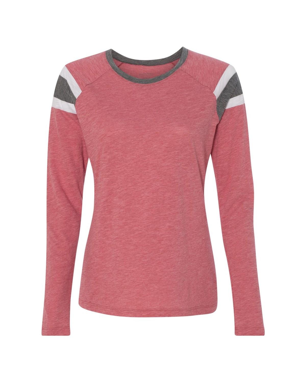 3012 Augusta Sportswear Red/ Slate/ White
