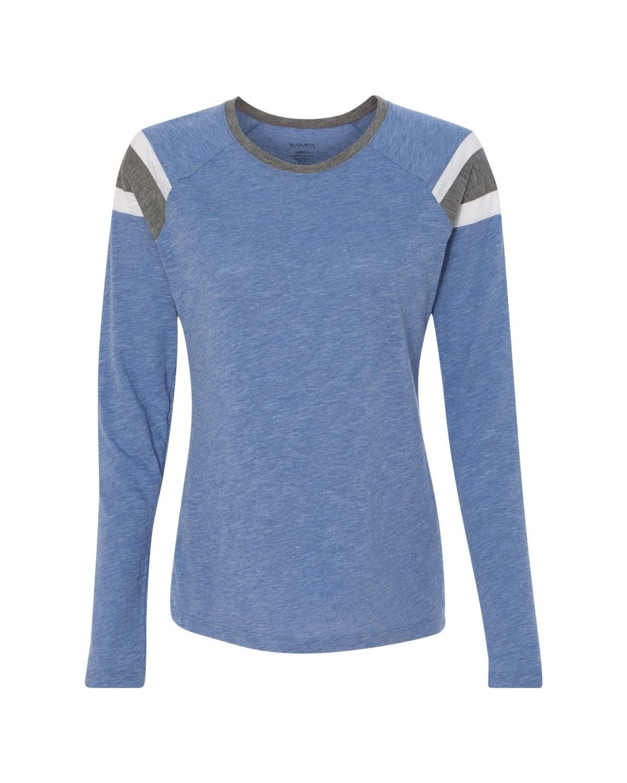 3012 Augusta Sportswear Royal/ Slate/ White