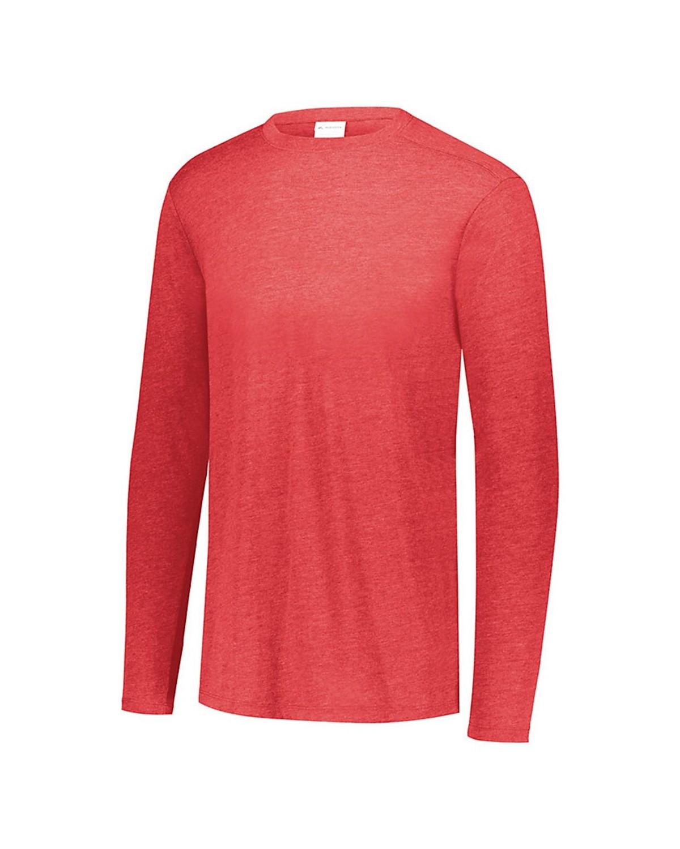 3076 Augusta Sportswear RED HEATHER