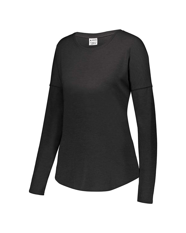 3077 Augusta Sportswear BLACK HEATHER