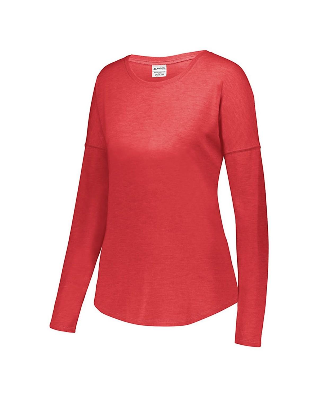 3077 Augusta Sportswear RED HEATHER