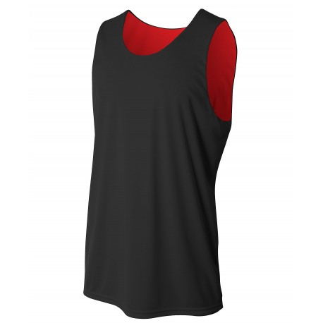 A4NB2375 A4 A4NB2375 Youth Reversible Jump Jersey BLACK/RED