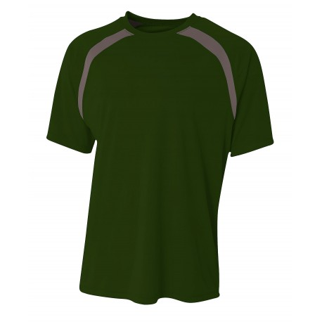 A939 Anvil A939 Adult Midweight Camouflage Tee CAMOUFLAGE GREEN
