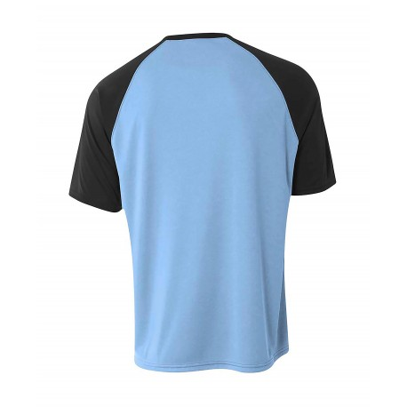 BG1001 Badger Sport BG1001 Adult FitFlex Long Sleeve Tee BLACK