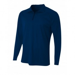 A4 A4N4268 Adult Daily 1/4 Zip Jersey