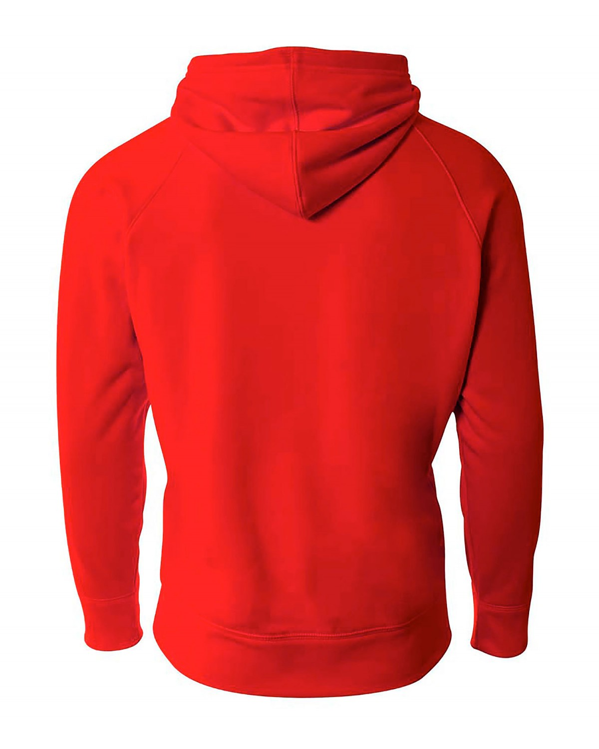 BG1468 Badger Sport Carbon Heather/Red
