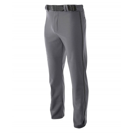 A4NB6162 A4 A4NB6162 Youth Pro Style Open Bottom Baggy Baseball Pant GRAPHITE