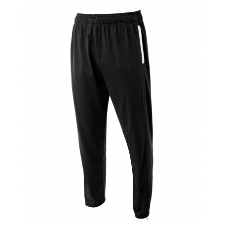 A4NB6199 A4 A4NB6199 Youth League Youth Warm Up Pant BLACK/WHITE