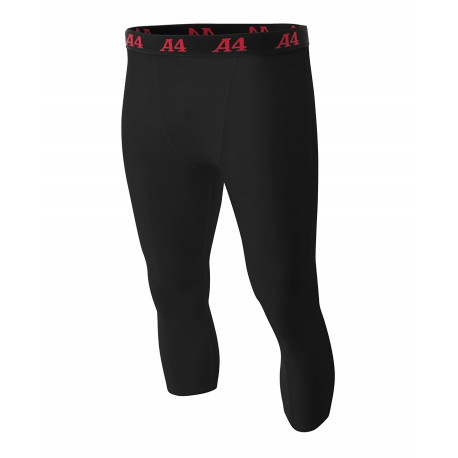 A4NB6202 A4 A4NB6202 Youth Compression Tight BLACK