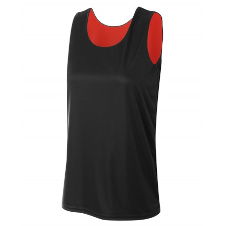 A4NW2375 A4 A4NW2375 Womens Reversible Jump Jersey BLACK/RED